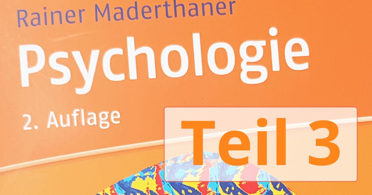 Psychologie Aufnahmetest 2020 - Teil 3 - Zusammenfassung zum Erfolg!