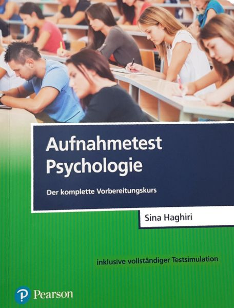 Trainingsbuch Aufnahmetest Psychologie