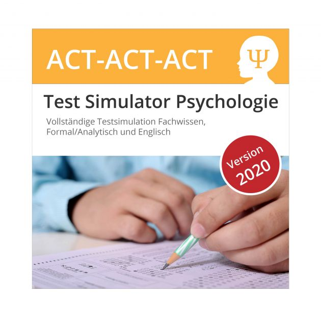 Psychologie Testsimulation Komplett