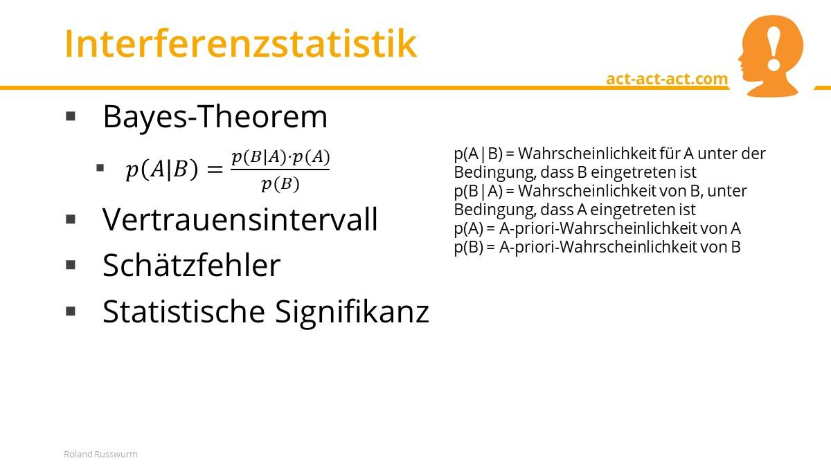 Interferenzstatistik