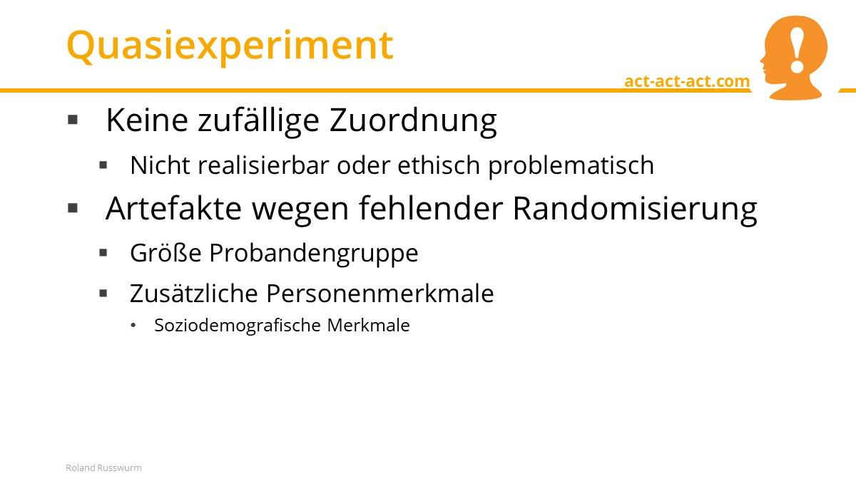 Quasiexperiment