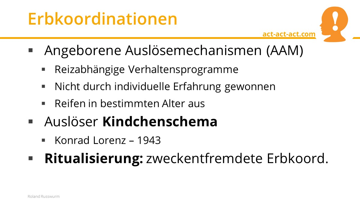 Erbkoordinationen
