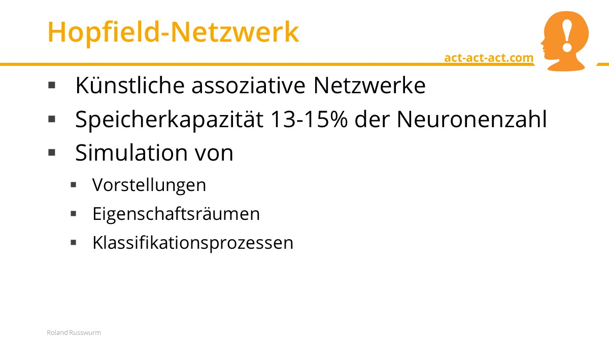 Hopfield-Netzwerk