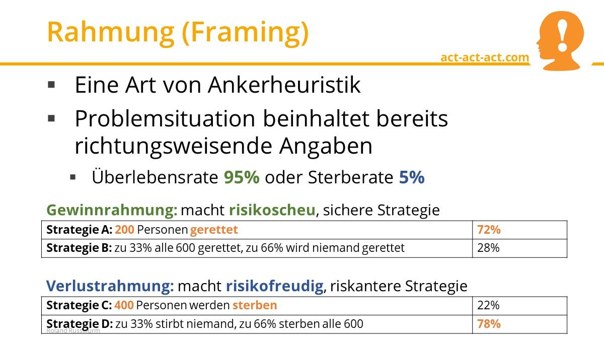 Rahmung (Framing)
