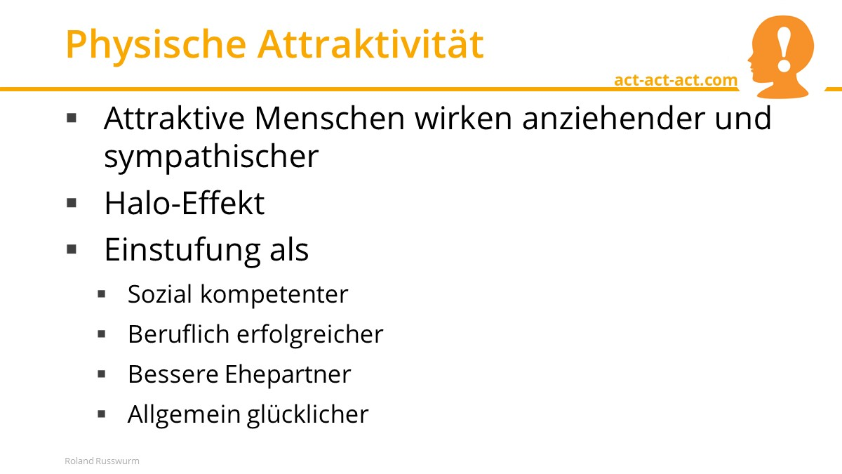 Physische Attraktivität